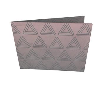 dobra - Nova Carteira Clássica - triangulo de penrose