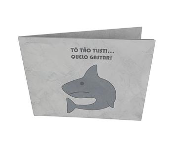 dobra - Nova Carteira Clássica - sad shark