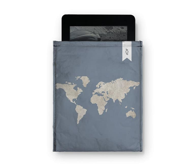 dobra - Capa Kindle - mapa mundi azulzão