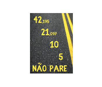 dobra - Lambe Autoadesivo - Maratona
