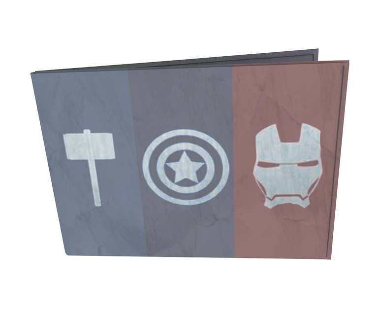 dobra - Carteira Old is Cool - Minimalist heroes