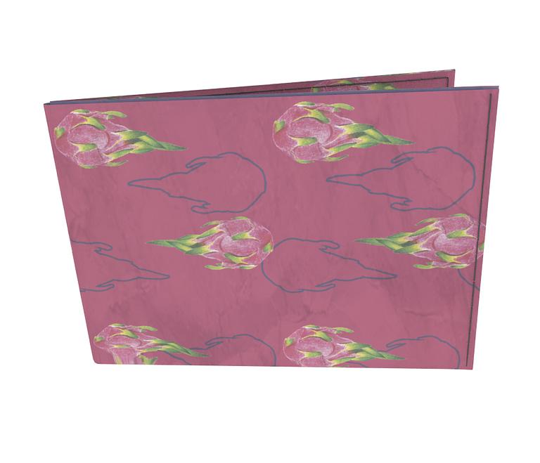 dobra - Carteira Old is Cool - pitaya rosa