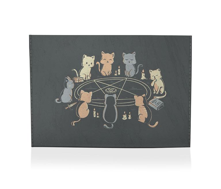dobra porta cartão cat ritual