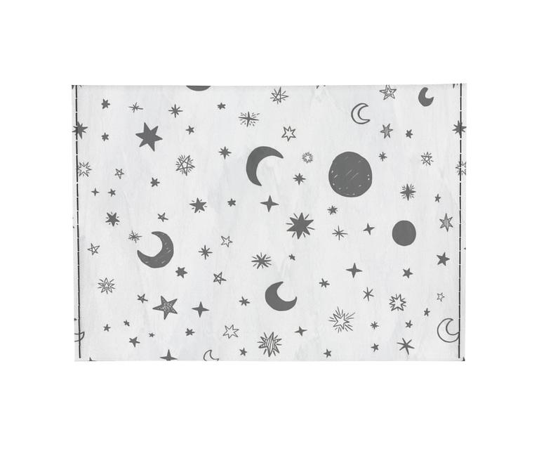 dobra - Porta Cartão - White Moon and Stars
