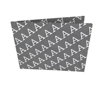 dobra - Nova Carteira Clássica - AAAAAAA CAOS - Black