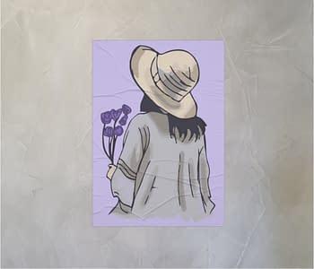 dobra - Lambe Autoadesivo - A Garota