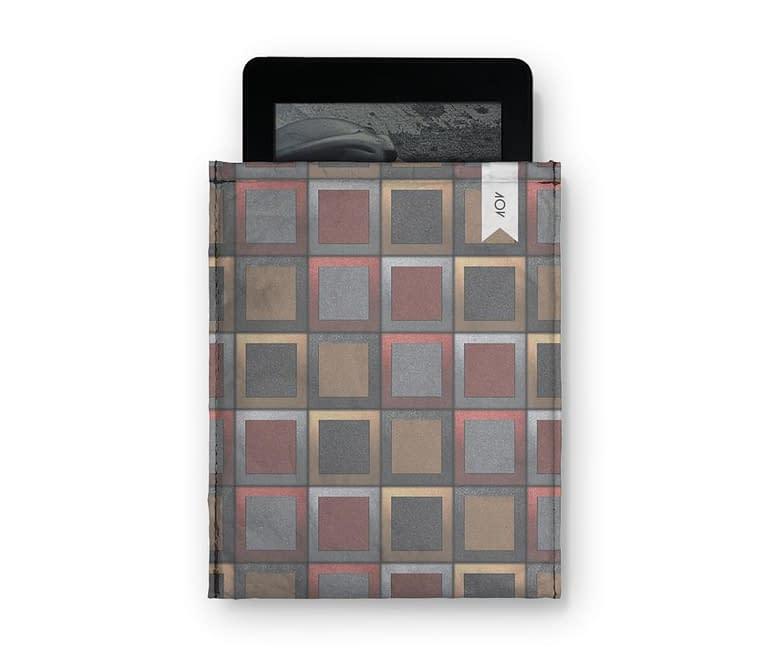 dobra - Capa Kindle - Quadriculado 3D