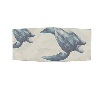dobra - Nova Carteira Clássica - Tartaruga de Couro