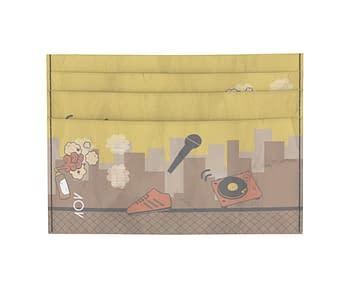 dobra - Porta Cartão - Hip Hop 4 Elementos Pôr do Sol