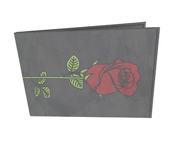 dobra - Carteira Old is Cool - rosas são vermelhas