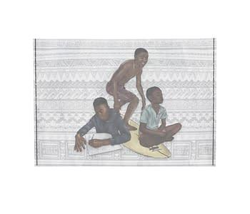 dobra - Porta Cartão - três meninos lwandi
