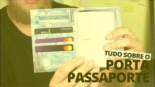 video youtube - tudo sobre o porta passaporte
