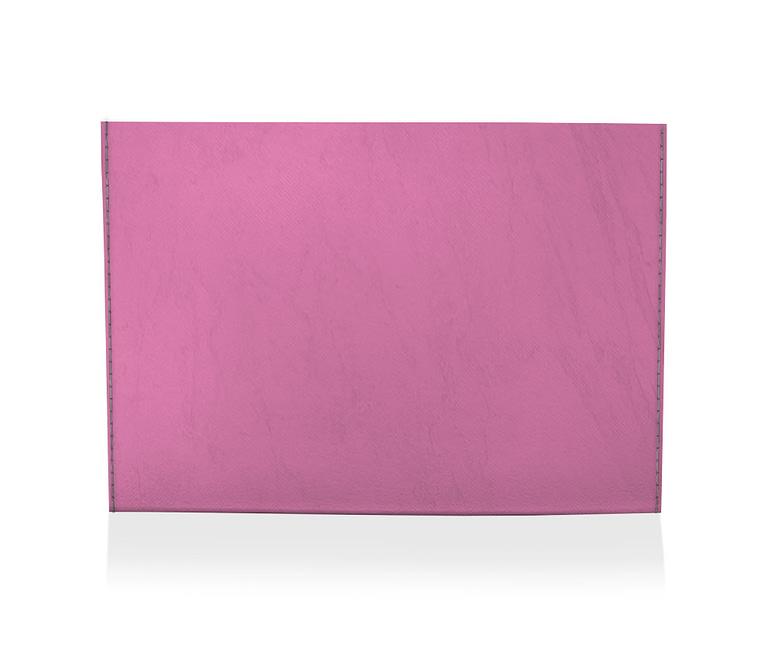 dobra porta cartao liso rosa