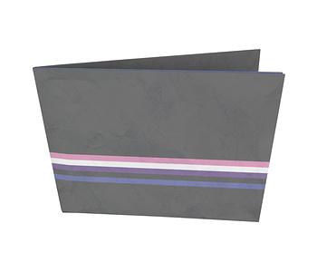 dobra - Nova Carteira Clássica - Orgulho Gênero Fluído