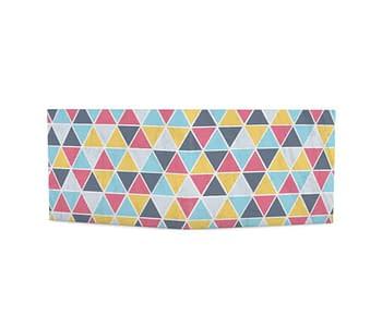dobra azulejos triangulares coloridos