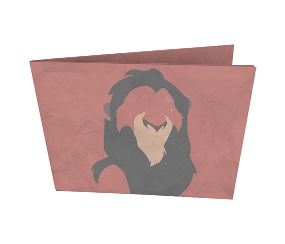 dobra - Nova Carteira Clássica - Minimalist bad lion