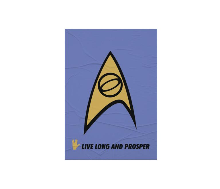 dobra - Lambe Autoadesivo - Spock