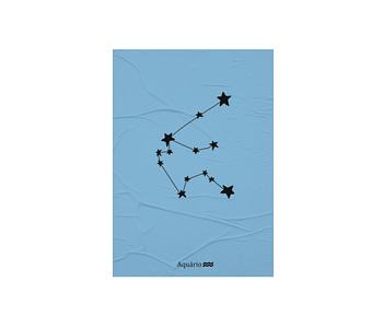 dobra - Lambe Autoadesivo - Signo de Aquario