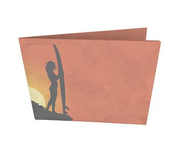 dobra - Nova Carteira Clássica - Por do sol e as sombras do Surf