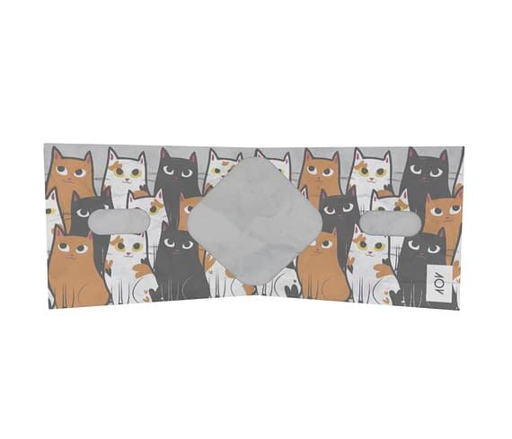 dobra - Nova Carteira Clássica - Gatinhos da 101