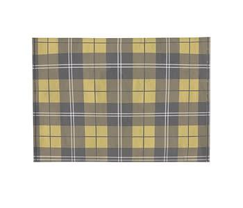 dobra - Porta Cartão - xadrez amarelo