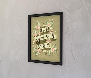 dobra - Quadro - Own your story