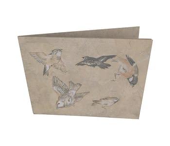 dobra - Nova Carteira Clássica - Pássaros
