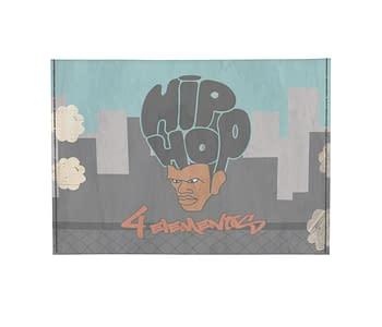 dobra - Porta Cartão - Hip Hop 4 Elementos Amanhecer