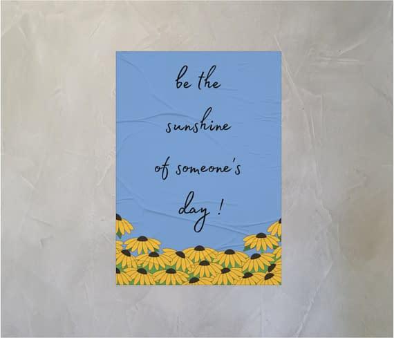 dobra - Lambe Autoadesivo - Sunflowers garden