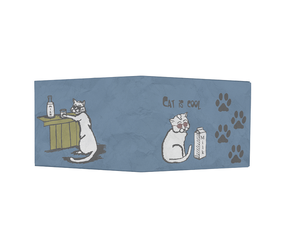 dobra - Nova Carteira Clássica - Cat is cool