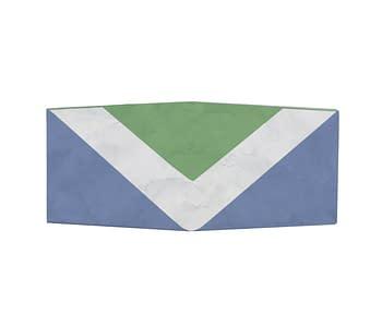 dobra - Nova Carteira Clássica - Bandeira vegana internacional