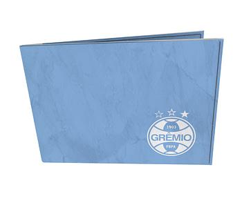 dobra - Carteira Old is Cool - Grêmio | azul e branca