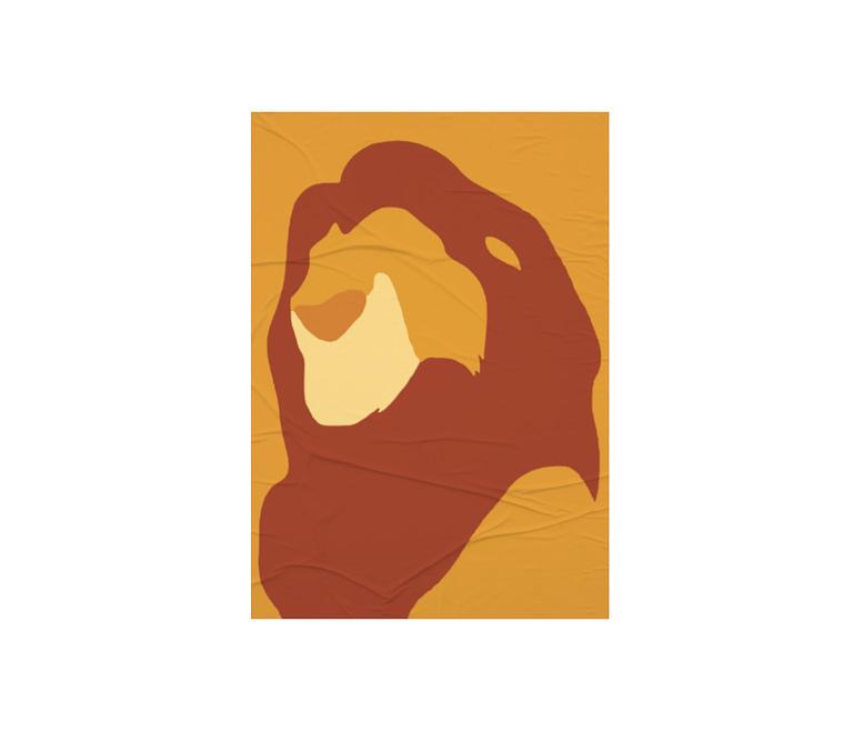 dobra - Lambe Autoadesivo - The lion