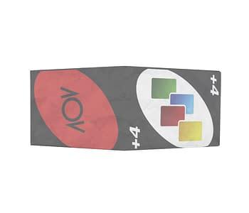 dobra - Nova Carteira Clássica - Carta +4 - Baralho Dobra