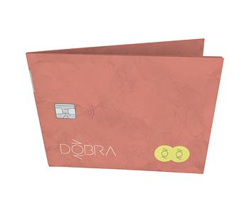 dobra - Nova Carteira Clássica - Cartão Laranja
