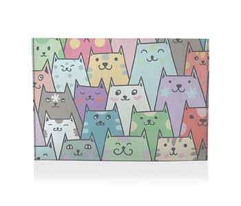 dobra porta cartao gatos e gatos