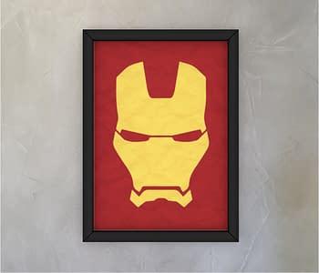 dobra - Quadro - Minimalist Iron Man