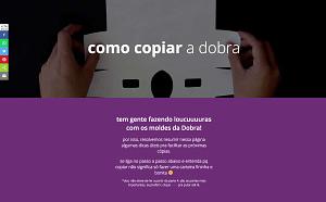 print da página comocopiaradobra.com.br