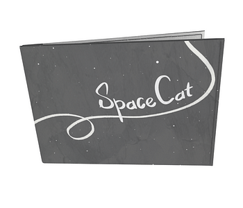 dobra - Carteira Old is Cool - Space Cat
