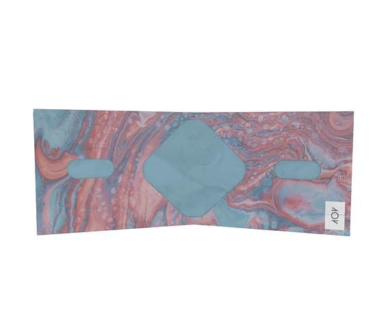 dobra - Nova Carteira Clássica - Mármore colorido