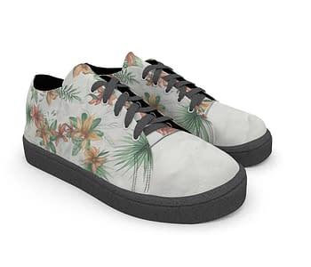 dobra - Tênis - Floral Tropical