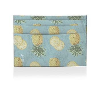 dobra porta cartao abacaxi