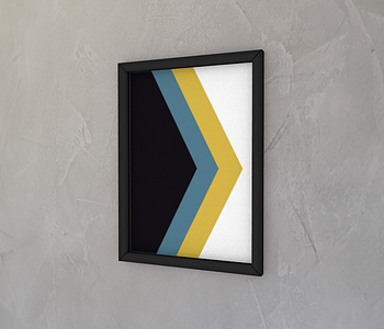 dobra - Quadro - geométrico triangular