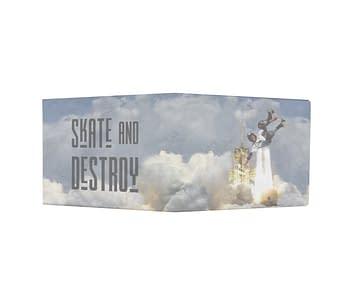 dobra - Nova Carteira Clássica - Skate & Destroy