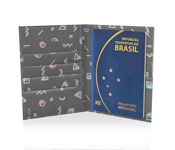 dobra porta passaporte memphis black