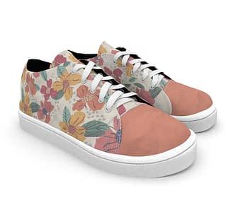 dobra - Tênis - Floral Divertido