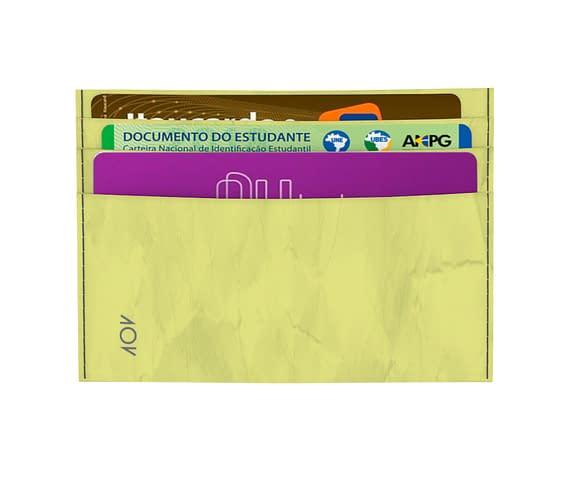 dobra - Porta Cartão - lansou a braba