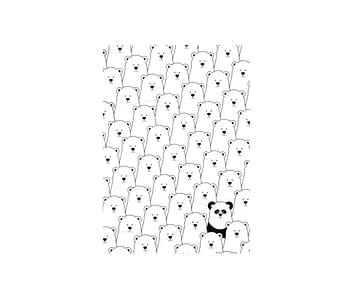dobra - Lambe Autoadesivo - Panda Intruso