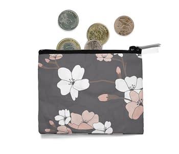 dobra - Porta Moedas - Sakura Flowers