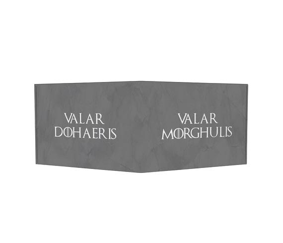 dobra - Carteira Old is Cool - Valar Morghulis
